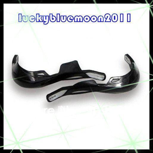One Set Black Wide Fat Bar handguards Hand Guard Raptor 1 1/8 28mm mounting Kit PRO TAPER Motorcycle Dirt Bike MX handlebar