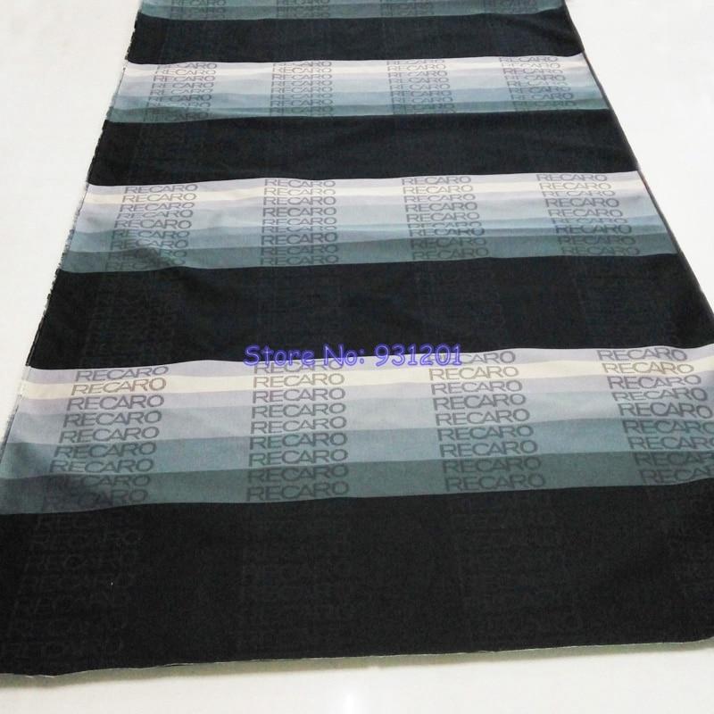 1 Unit 170cm x 80cm Recaro Racing Car Seat Fabric Materials Gradation Recaro Fabric
