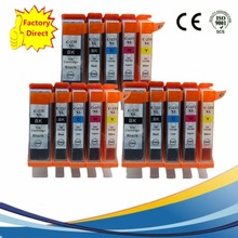 15 x PGI250 PGI 250 XL CLI-251 PGI-250 PGI-250XL Ink Cartridges For Canon Pixma MX922 IX6820 MG-5420 MG-5422 MG-5520 Printer