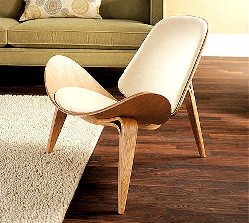 wooden lounge chair how to reupholster rocking cushions online shop minimalist modern design wood living room leisure pad natural