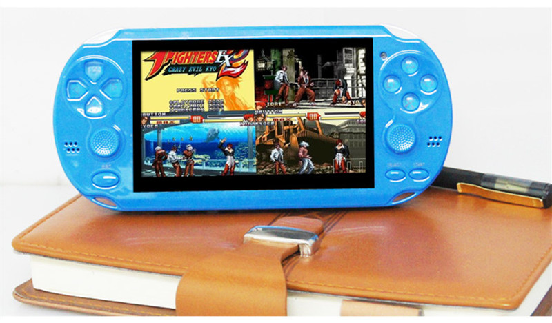 High Quality 4GB MP4 MP5 Player 4 3 Inch PMP Handheld font b Game b font