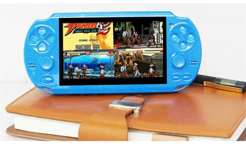 Hohe Qualität 4 Gb Mp4 Mp5 4,3 Zoll Pmp-handspiel-spieler Doppelwippe Video Fm Kamera Tragbare Spiel Konsole Tragbares Audio & Video