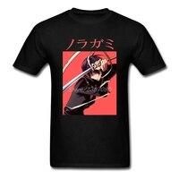 Noragami Yato T-shirt D'o-Cou Coton À Manches Courtes T-shirt Personnalisé Hommes 2017 Chaude 3d Imprimante 3XL Hommes Chemises