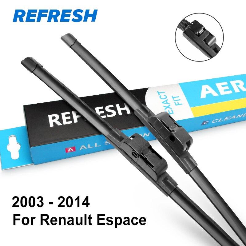 REFRESH Щетки стеклоочистителя для Renault Espace IV / V 2003 2004 2005 2006 2007 2008 2009 2010 20111 2012 2013 - Цвет: 2003 - 2014