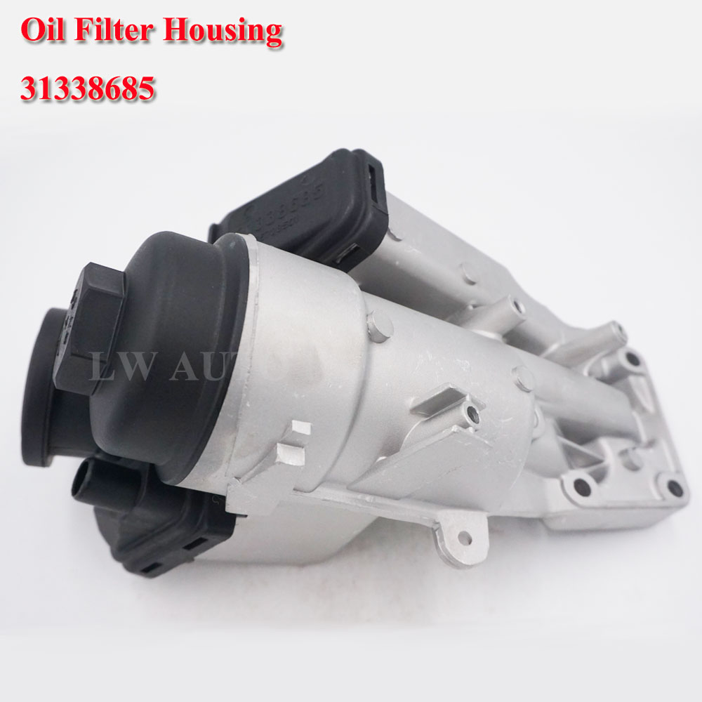 Oil Filter Housing for Volvo C30 C70 S40 S60 V50 V60 XC60 T5 31338685 <font><b>30788494</b></font> 7G9N6884AC image