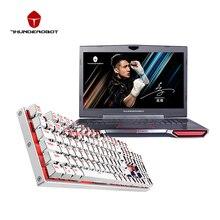 """Thunderobot 911GT-Y6 17.3 """"Игровые ноутбуки отправить клавиатуры в качестве подарка Intel Core i7 7700HQ NVIDIA GTX1060 16 ГБ Оперативная память 256 г + 1 ТБ подсветкой"""