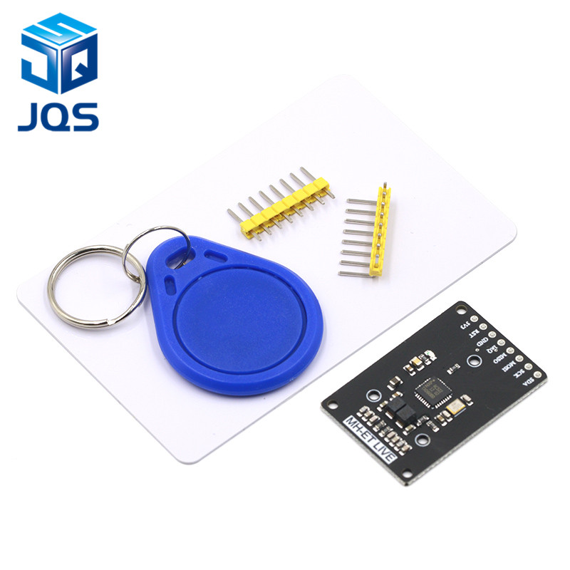 MINI RFID Module RC522 Kits S50 13.56 Mhz 6cm With Tags SPI Write & Read For Arduino Uno 2560