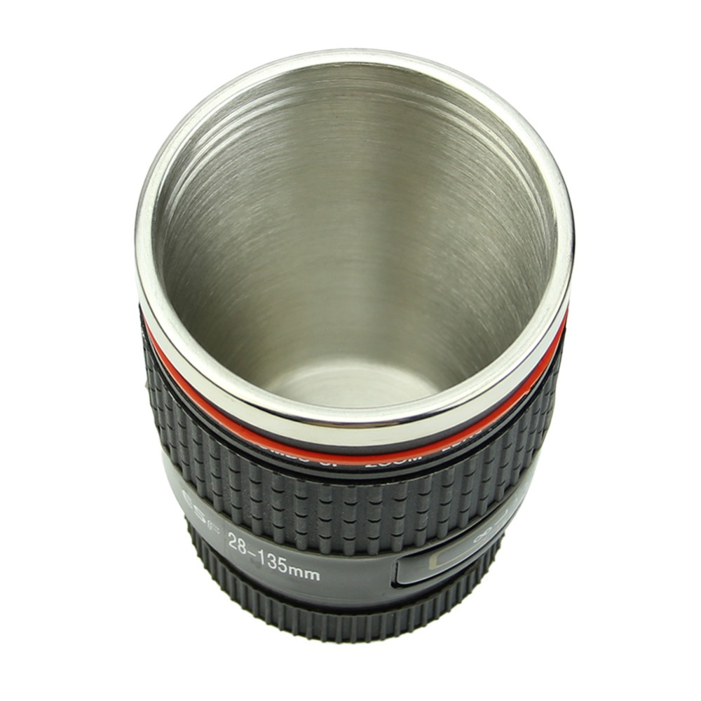 New Stainless Steel Black Camera Lens Cup Travel Mug Coffee Caniam Canon Ef Gelas 28 135mm In Mugs From Home Garden On Alibaba Group