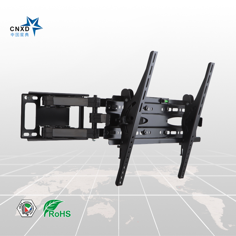 Articulating Full Motion Tv Wall Mount Bracket Tilt Swivel Stand Suitable Size 32 65 Max Vesa 600 400mm In From Consumer