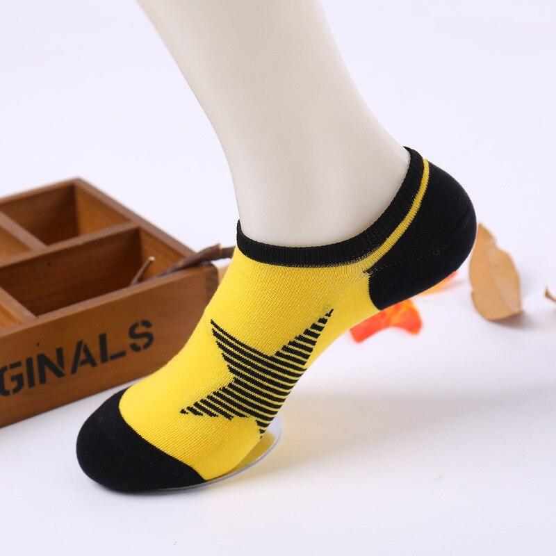6ab3cd3b7 Homens meias meias invisíveis 10 pcs   5 par lote star modelos harajuku happy  socks barco meias casuais dos homens eur 38 42 em Meias masculinas de Roupa  ...