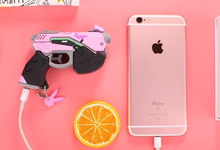Watch Over D.va Gun Headphone Hana Song Dva Weapon Pistol Headset Cosplay Costume Props Accessories For Game Convenience Goods Costume Props
