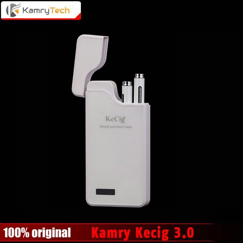 Original Kamry Kecigs 3.0 VS Kamry Cassiel Electronic Cigarette Kits Double Micro Vape Pen kit 0.7ml Atomizer 1200mah Battery