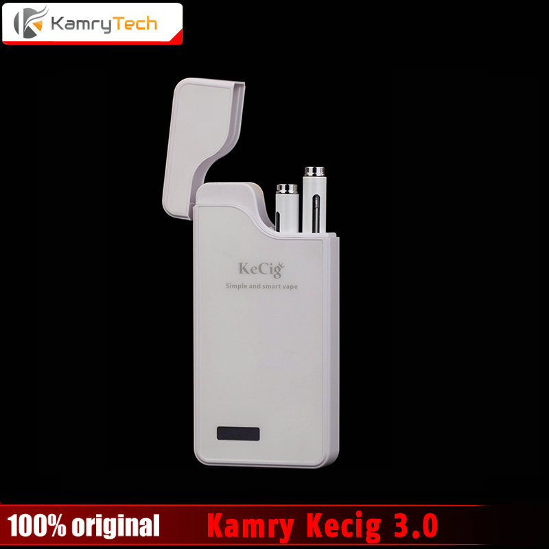 Ursprüngliche Kamry Kecigs 3,0 VS Kamry Cassiel Elektronische Zigarette Kits Doppel Micro Vape Stift kit 0,7 ml Zerstäuber 1200 mah batterie
