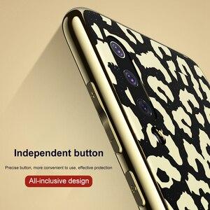 Image 4 - OTAO Новый чехол с леопардовым принтом для Xiaomi Mi 8 Lite 9 SE, мягкий чехол с краями из ТПУ Для Xiaomi 8 Explorer, Жесткий ПК чехол
