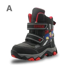 Image 2 - APAKOWA 3 זוגות בני נעלי ילדים חורף שלג מגפי נעליים יומיומיות קיץ סנדלי צבע באופן אקראי נשלח עבור אחד חבילה האיחוד האירופי גודל 27 32