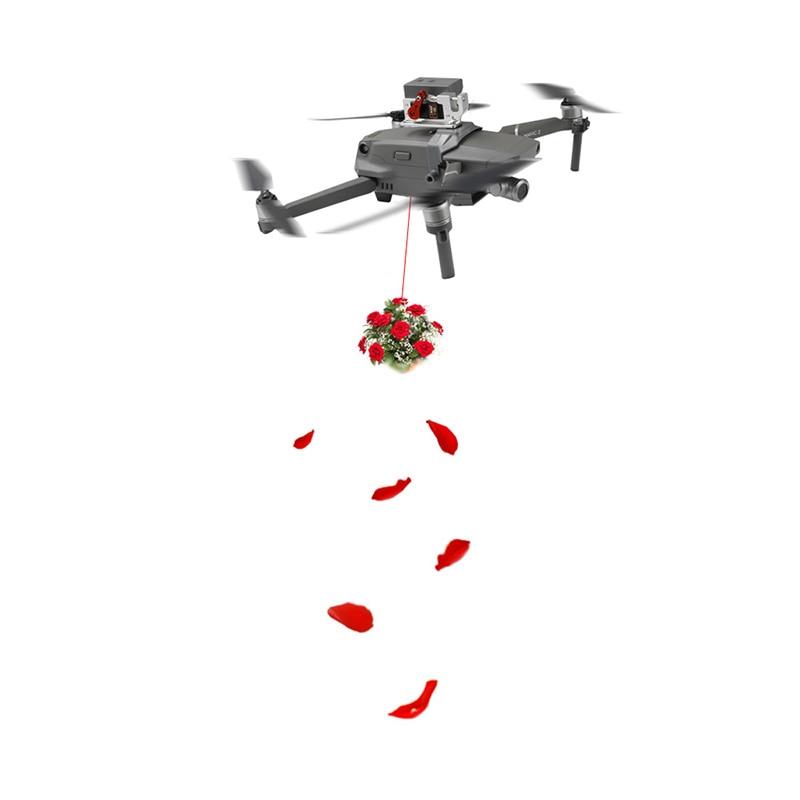 Parabolische airdrop Servo Switch apparaat Afstandsbediening controle Voor DJI mavic 2 pro zoom drone Accessoires-in Landingsgestel van Consumentenelektronica op  Groep 1