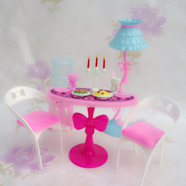 Jenny Baby Furniture Ings Lesson Four Table Chair Candlelight Dinner House Toy