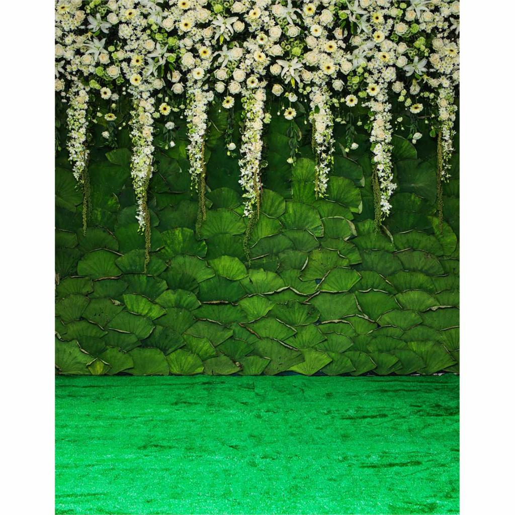 Allenjoy photographic background green lotus flower garden backdrops allenjoy photographic background green lotus flower garden backdrops boy wedding fabric photocall 8x12ft in background from consumer electronics on izmirmasajfo