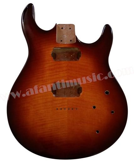 Afanti Music Alder wood DIY Electric guitar body (AQT-004) free shipping new t l electric guitar alder body f 3134