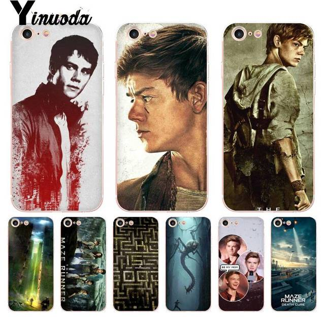 cheap for discount f23cd 03840 US $1.17 8% OFF Yinuoda For iphone 7 6 X Case The Maze Runner Thomas  Sangster Dylan Phone Case for iPhone 8 7 6 6S Plus X 5 5S SE 5C XS XR-in ...