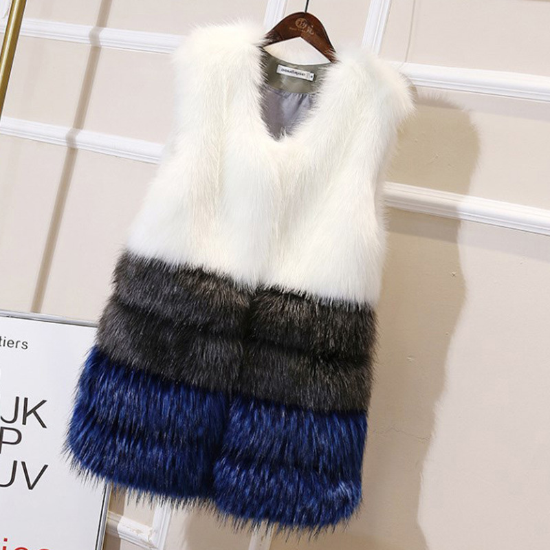 High Quality Real Fur Coat vest Fashion Genuine Rabbit Fur Overcoats Elegant Women Winter Outwear Recoon Dog Fur Jacket in Real Fur from Women 39 s Clothing