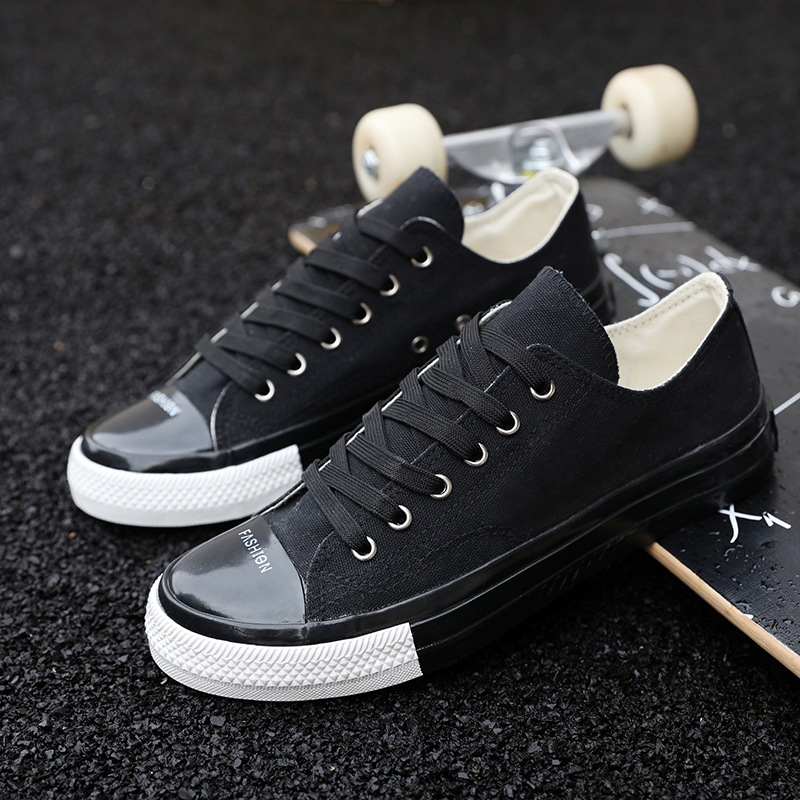 Original Spring New Net Shoe Man Breathable Cloth Shoes Tide Black Lattice Strap Shoe Men's Shoes Shoes