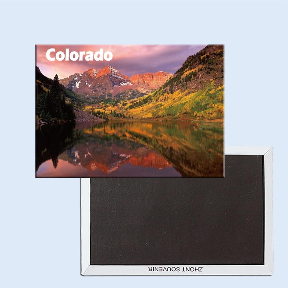 Maroon Bells Aspen Colorado USA 24335 Fridge Magnet