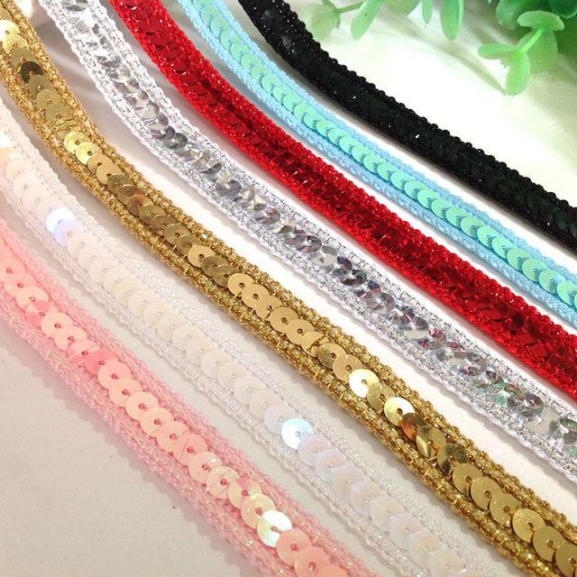 Robe de mariée à rayures en dentelle 30m   Robe en paillettes colorées et brillantes, accessoires décoratifs pour vêtements de scène, spectacle