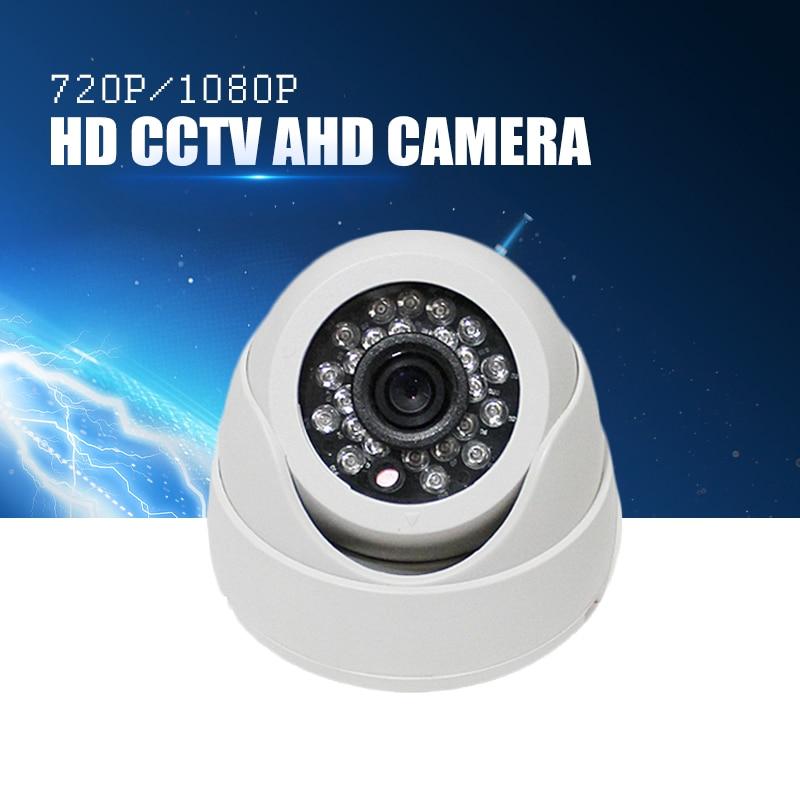 YiiSPO Plastic Mini IR Dome Camera 24pcs LED Board Video Security Camera Indoor CCTV AHD 720P 1080P AHD camera 3.6MM len IR-CUT