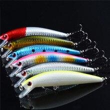 Sıcak satış toptan 6 adet plastik yapay balıkçılık Lures japonya bas sazan yem Wobbler seti ücretsiz kargo Topwater cazibesi 99mm10g