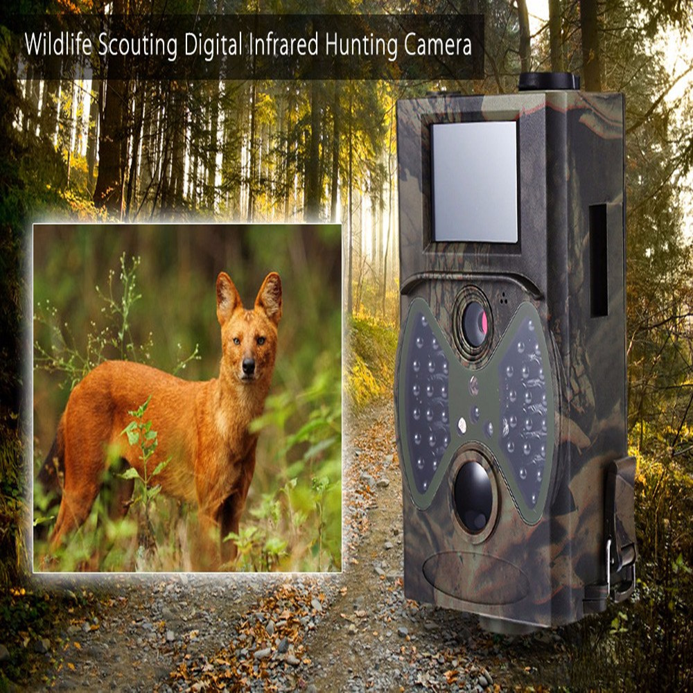 12MP Wildlife Trail Cameras Scouting Digital Infrared Trail Hunting Camera Army Green Sport Hunting Wildlife Video Cameras 12mp trail camera gsm mms gprs sms scouting infrared wildlife hunting camera hd digital infrared hunting camera