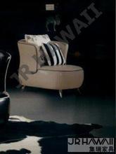JIXINGE alta calidad silla Barcelona, silla de metal, salón comedor de cubierta de cuero genuino real de cuero sofá silla