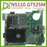 KEFU N5110 For DELL inspiron 15R N5510 CN 0J2WW8 0J2WW8 HM67 DDR3 GT525M 1GB GPU original Test motherboard original 100%