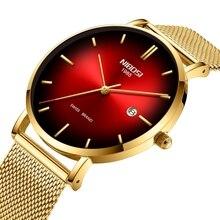 NIBOSI Simple Style Fashion Men Quartz Watch Men Luxury Creative Steel Band Waterproof Casual Men's Watches Relogio Masculino все цены