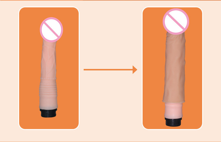Lovetoy 7.5 inch Realistic Penis Sleeve Reusable Condom Dildo Enlargement Simulation Penis extension Enlargers Sex toy for men 2