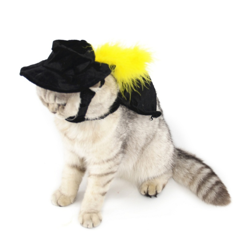 2018 Cat Halloween Christmas Costumes magic cloak mantle dress suit clothes Pet Puppy cat Product For Small Dog Cat