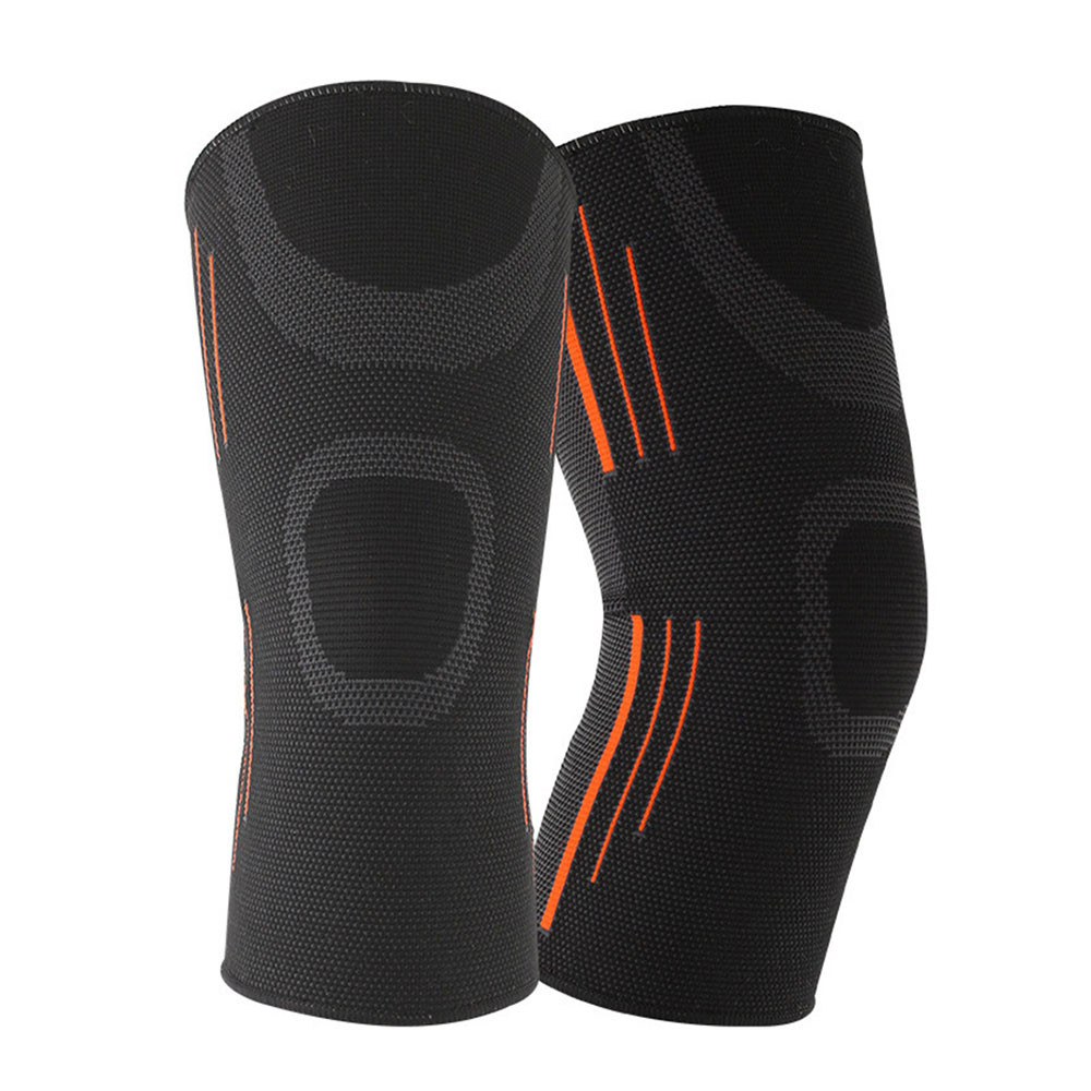 1PCS Fitness Running Cycling Knee Support Braces Elastic Nylon Sport Compression Knee Pad Sleeve For Basketball Volleyball 3.0#
