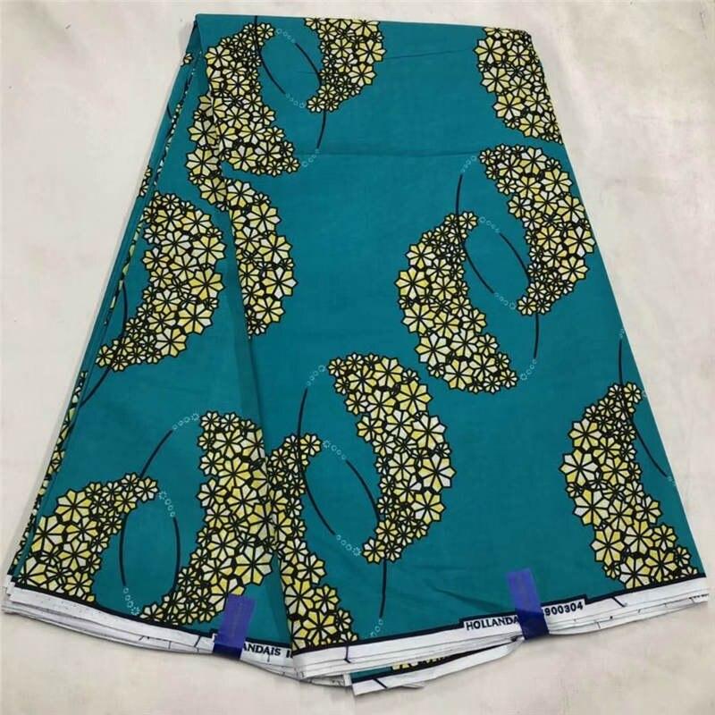 DF! 6 yard/lot nigérian nouvelle cire java, 100% coton africain belle cire impression tissu ankara cire tissu design luxueux! P61238