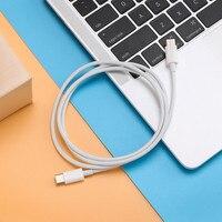 2019 новый дизайн двойная головка type-C Синхронизация данных быстрое зарядное устройство зарядная Кабельная линия разъем 2 м для MacBook для Ipad Pro 11...