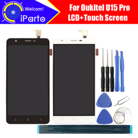 Oukitel U15 Pro LCD Display Touch Screen Digitizer 100 Original Tested LCD Screen Glass Panel For