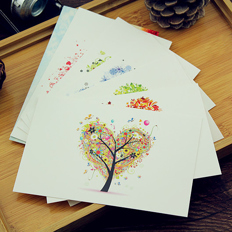 7 Sheets Thicken Creative Colorful