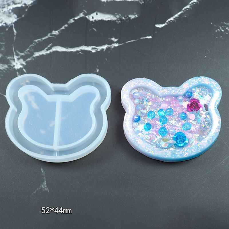 Spring Clip Acc for Resin Casting Silicone Mold Jewelry Crystal Epoxy Art DIY