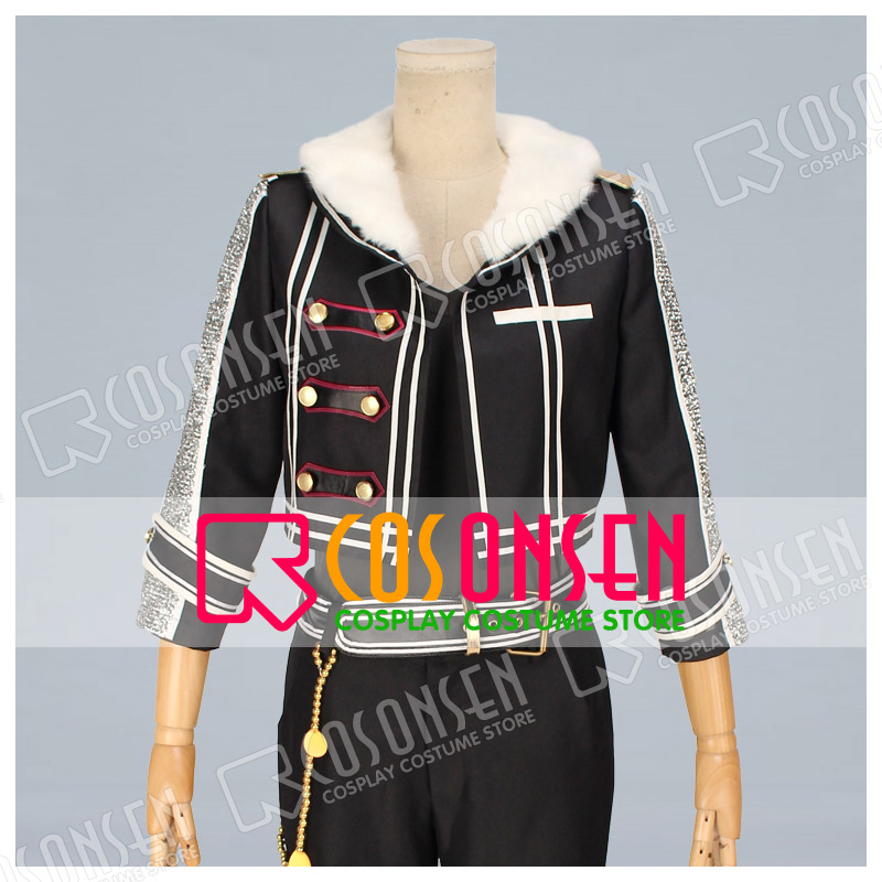 COSPLAYONSEN Ensemble Stars UNDEAD Rei Sakuma Cosplay Costume with hat