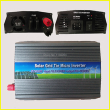 500W MPPT Grid Tie Micro Inverter 10.5-28VDC to AC90-140V or 180-260V On Grid Inverter 500W Pure Sine Wave Output