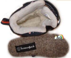 Image 3 - Зимние сапоги для мальчиков и девочек, детские зимние сапоги из натуральной шерсти внутри, теплые водонепроницаемые сапоги на 30 градусов, размеры от 27 до 32, wallvell