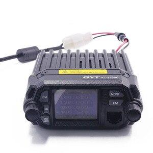 Image 3 - QYT KT 8900D Colorido Mini Walkie talkie Quad Display Atualizado de KT 8900R 25W Dual band UHF/VHF Carro Móvel rádio KT 8900D