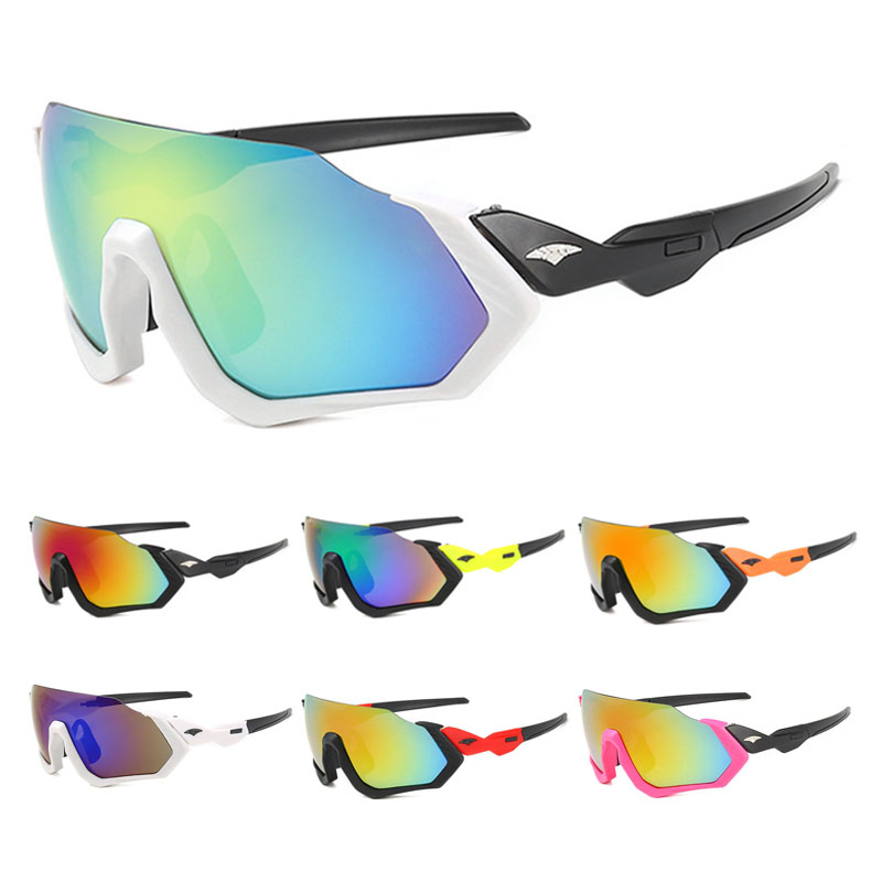 2019 Men Women Cycling Glasses Road Bike MTB Sunglasses UV Protection Riding Racing Goggles 10 Colors Bicycle Eyewear(China)
