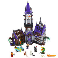 860pcs Scooby Doo Mystery Mansion House Modle Diy Building Blocks Compatible with Legoingly 75904 Toys for Children Kids Gift