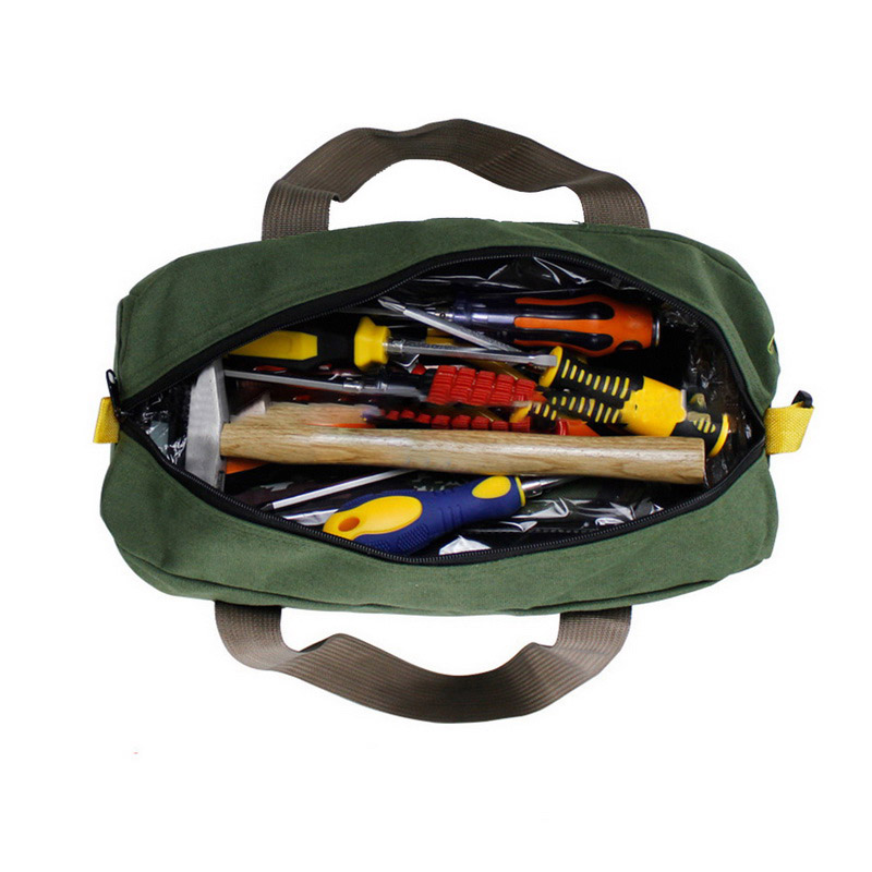Multifunction Waterproof Canvas Tool Bag Toolkit Storage Carry Bags For Electrician ALI88