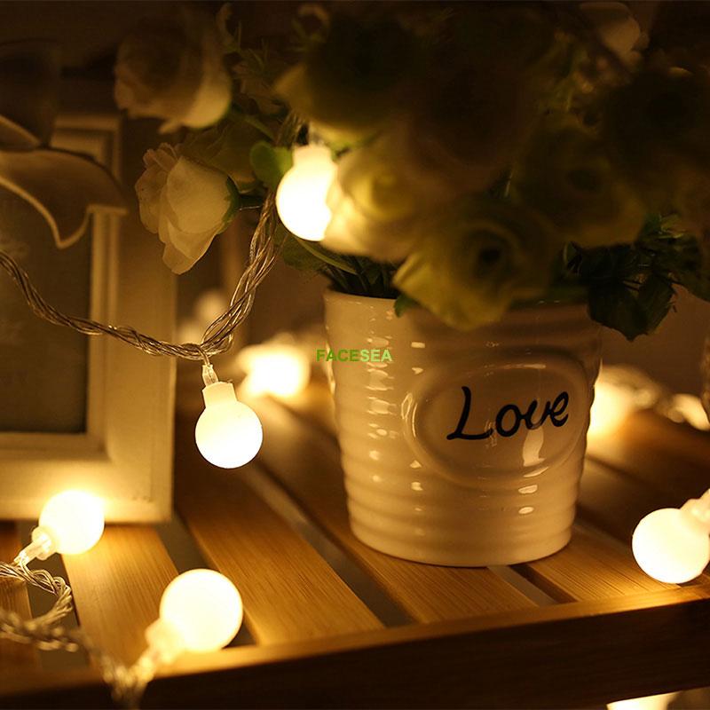 10M 220V vanjski višebojni LED žarulje svjetla božićne lopte - Rasvjeta za odmor - Foto 5